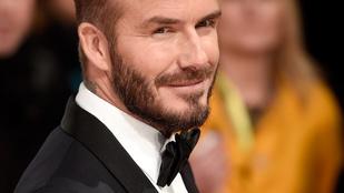 David Beckham szakálla ebben a pillanatban lett tökéletes