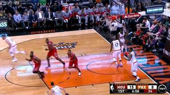 A Phoenix Sunsnál is elfelejtettek kosarazni