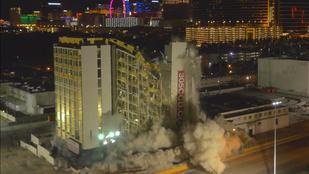 Durva: 2000 kiló robbanószernek is ellenállt a Las Vegas-i hotel