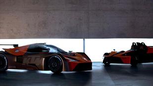 Durván néz ki az új KTM sportkocsi