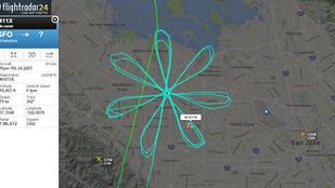 Meggárgyult a repülő Kalifornia felett