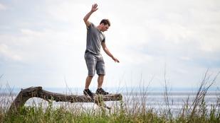 Jó az egyensúlyérzéke? Tovább fog élni.