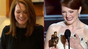 Julianne Moore az Oscaron is színészkedett