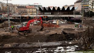 Világháborús gránátot találtak a Széll Kálmán téren