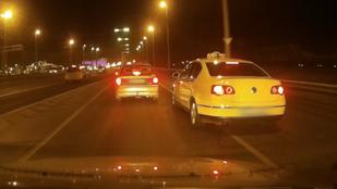 Minden taxisárga Passat gyanús