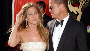 Brad Pitt megszerezte Jennifer Aniston számát!