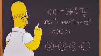 Honnan tudta Homer Simpson, hogy hol lesz a Higgs-bozon?