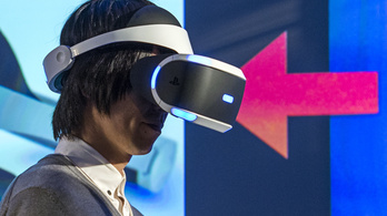 Jövőre jön a Sony VR-szemüvege