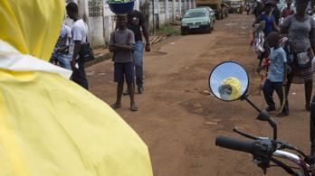 Libéria talán ebolamentes