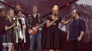 Botrány tört ki a német Eurovíziós döntő végén