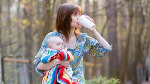 Egy jó kávét a babának?