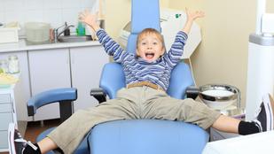 Izgalmas délutáni program: fogorvosnál a gyerek