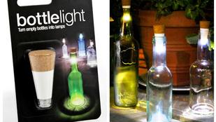Kidobná a borosüveget? Inkább csináljon belőle lámpát
