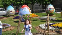 Ismét óriástojásokkal várja a húsvétot Zágráb