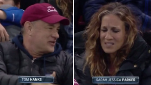 Amikor Sarah Jessica Parker nem veszi észre, hogy őt veszi a kamera