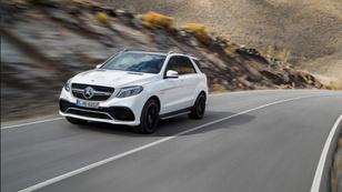 A Mercedes újdonsága, a GLE