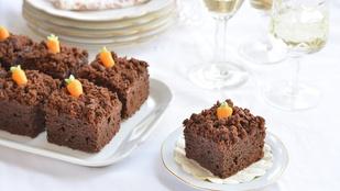 Brownie: répa-veteményeskert verzió húsvétra