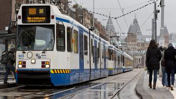 Áramszünet bénította meg Amszterdamot és környékét