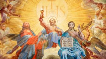 Azt ismeri, hogy három Jézus beszélget?