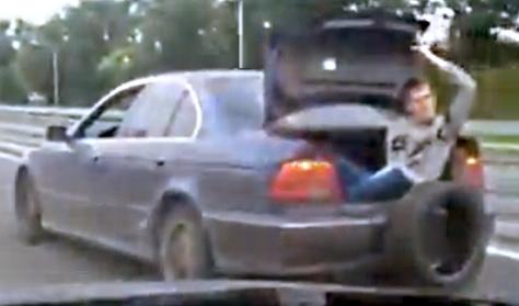 BMW-t vontatni? Soha!