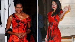 Lenyomja Michelle Obama Amal Clooney-t?