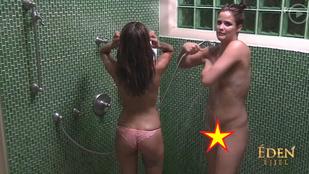 Éden Snezi és Adrienn együtt zuhanyoztak