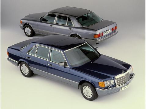 Mercedes-Benz sedans, W 126 series