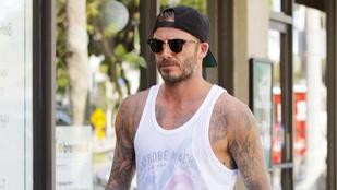 Ha tavasz, akkor David Beckham