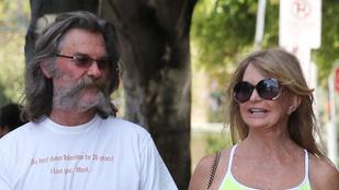 Kurt Russell és Goldie Hawn a legcukibb szerelmespár
