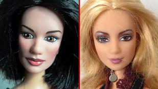 Kitalálja, hogy melyik Barbie-t melyik celebről mintázták?