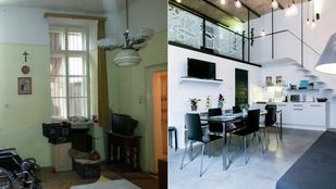 Két dizájnos apartman egyetlen elhanyagolt lakásból