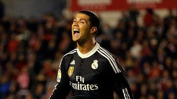 C. Ronaldo harcban áll a bírókkal: káromkodva üzent gólja után