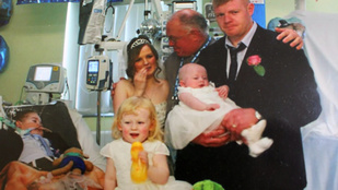Megrázó fotók egy szomorú esküvőről