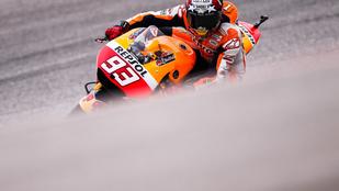 Rossi dobogón, de Marquez visszatért