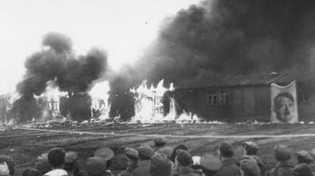 Sokkoló képek kerültek elő a koncentrációs tábor végnapjairól