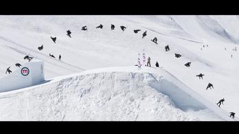 Már megint megcsináltak egy lehetetlen snowboardos trükköt