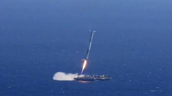 Ennyi híja volt, hogy leszálljon a rakéta