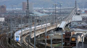 Egy japán vonat megdöntötte a világrekordot