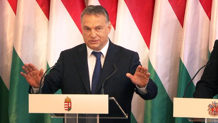 Orbán először beszélt nyilvánosan Habonyról