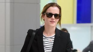 Emma Watson megmutatta, hogyan kell stílusosan utazni