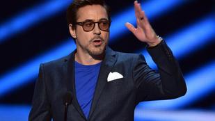 Robert Downey Jr. interjú közben kiborult, majd felállt és kiviharzott