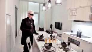 Így telik Karl Lagerfeld egy napja