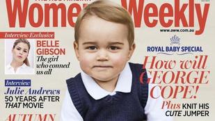 György herceg alig másfél évesen már pelenkás politikus