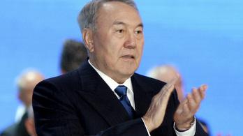 Igen, Nazarbajev megcsinálta