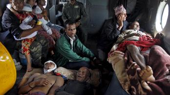 Több mint 4000 halott a nepáli földrengésben