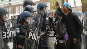 Súlyos zavargások az amerikai Baltimore-ban