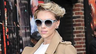 Scarlett Johansson haja elképesztő menő