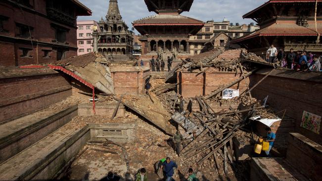 Nepál világörökségi helyszíneinek megmentéséért tüntettek buddhista szerzetesek