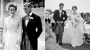 Nézze meg, hogy miben mentek férjhez a hírességek 50-60 évvel ezelőtt