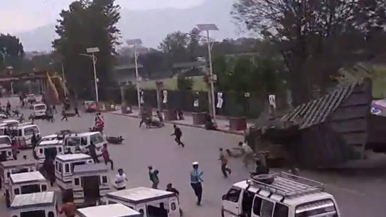 Durva videó került elő a nepáli földrengésről